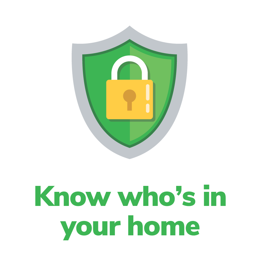 Know who's in your home