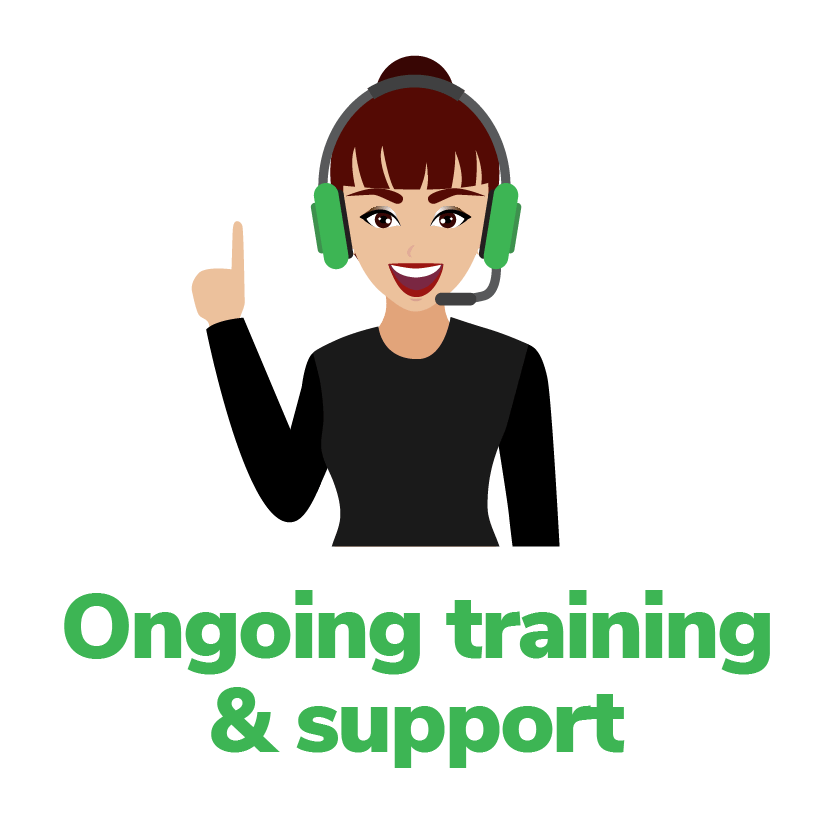 ongoing training & support