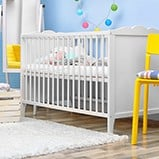 Childrens cot kitset assembly example