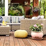 Outdoor furniture kitset
