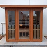 Wooden Sauna Assembly Example