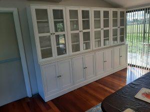 IKEA Storage Units with Glass Doors