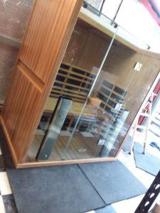 2 Person Sauna with Glass Doors
